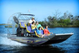 Homosassa Airboat Tour Family