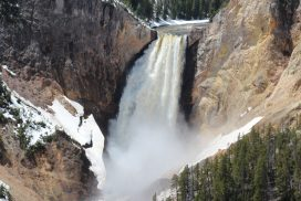Yellowstone Wasserfall