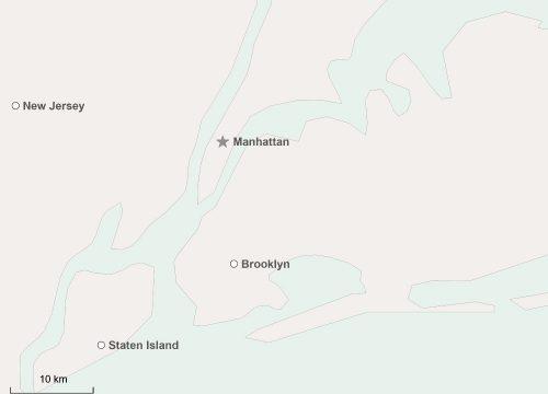 Manhattan Karte